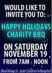 Happy Holidays Customer/Charity BBQ Event