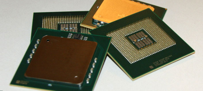 Photo of CPU Processor Chips