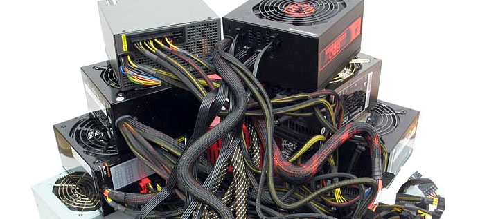 Photo of Power Supplies (w/ wires)