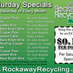 2013 Saturday Specials – Rockaway Recycling