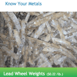 Lead Wheel Weight Price