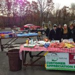 Customer Appreciation donations and November scrap prices