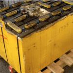 scrap forklift battery