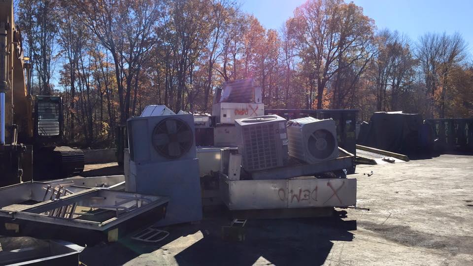 Rockaway Recycling low scrap prices