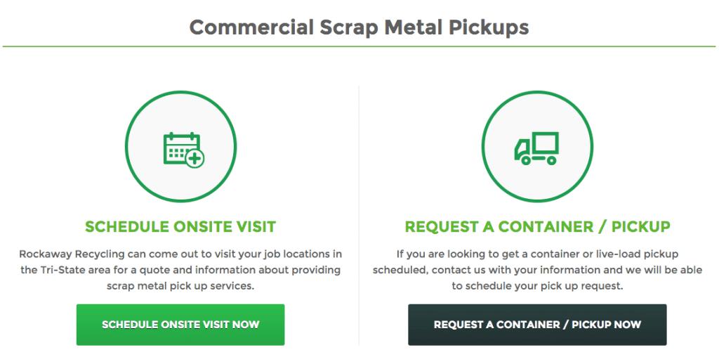Scrap Metal Pickups in New Jersey