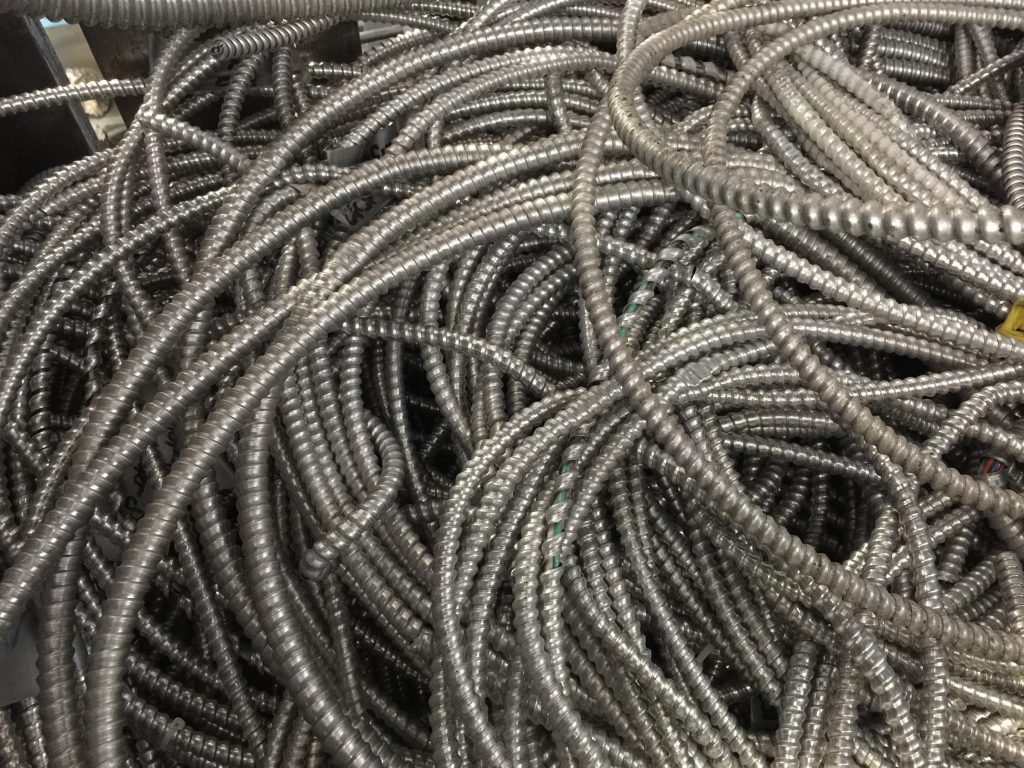 Photo of Aluminum BX Cable